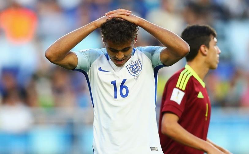 Calvert-Lewin fue el verdugo de Venezuela /Foto FIFA