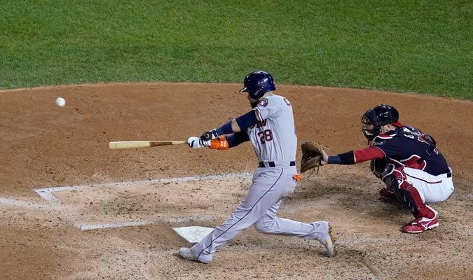 Chirinos volvió a ser decisivo con un cuadrangular/ Foto AP