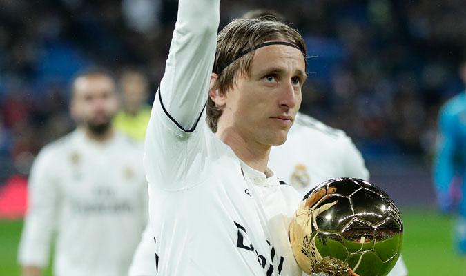 Modric fue condecorado como el mejor jugador del mundo/ Foto AP