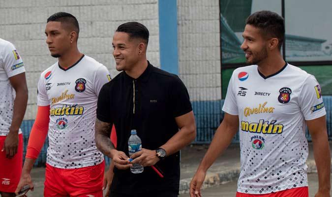 """""""El General"""" es ficha del rojo / Foto: Caracas FC"""