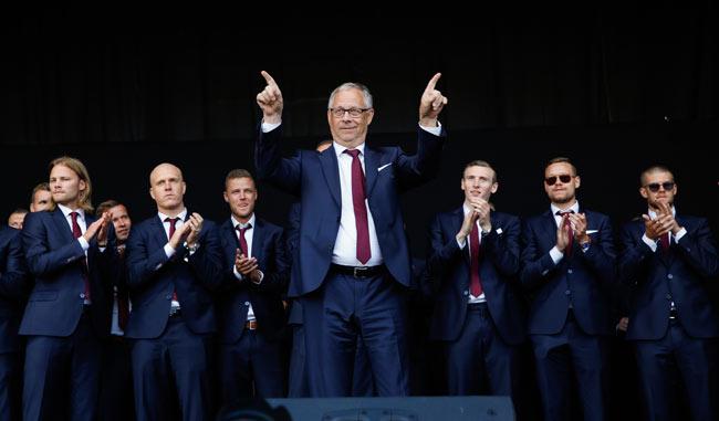 La selección de Islandia fue elimina en cuartos de final/AP