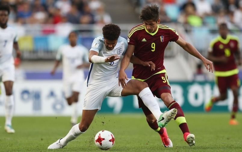 El encuentro fue muy disputado /Foto FIFA