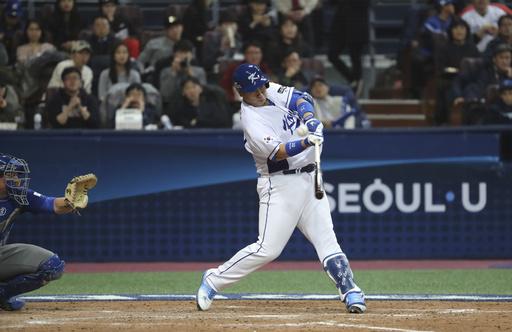 El jugador de los Marineros, Dae-Ho Lee es la figura de Corea /Foto AP
