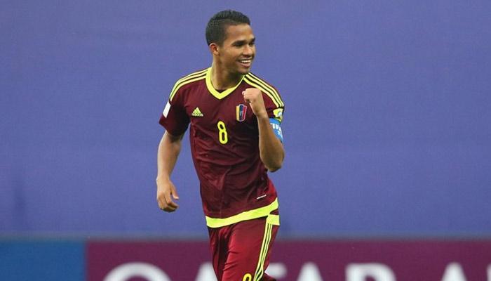 Herrera marcó el tanto de la victoria /Foto FIFA