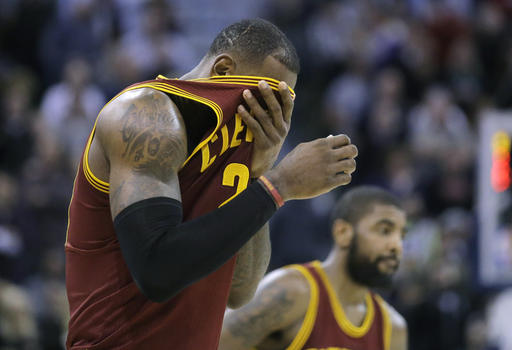 LeBron James sigue liderando a Cleveland /Foto AP