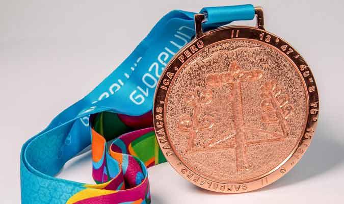 Medalla de bronce / Foto: coarg