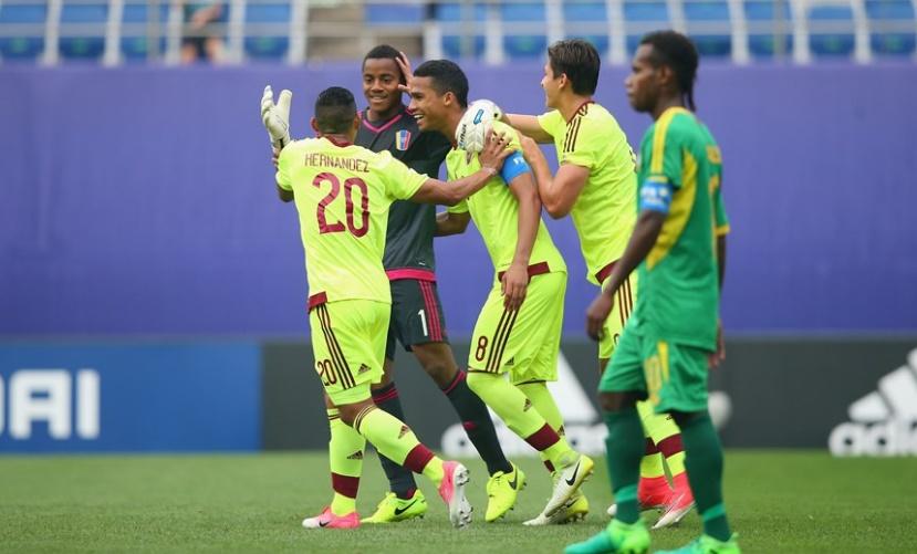 Faríñez anotó de penalti y se unió a la fiesta goleadora /Foto FIFA