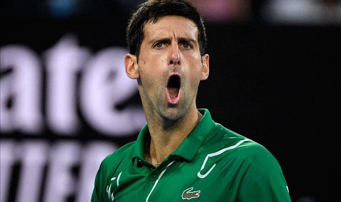 El serbio desplegó su mejor tenis cerca del final/ Foto AP