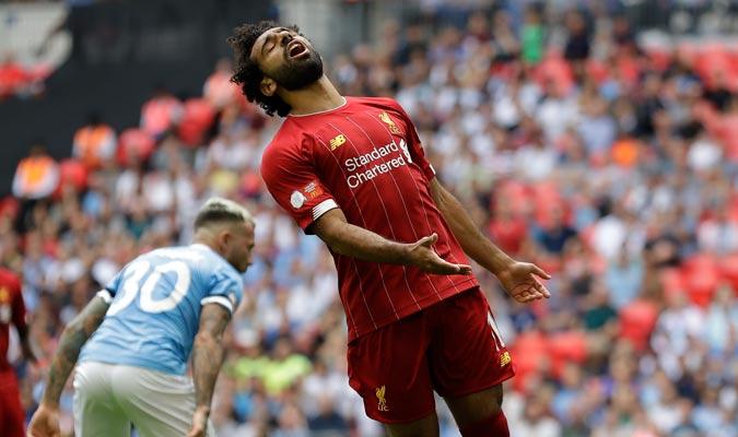 Salah comandó el ataque del Liverpool/ Foto AP