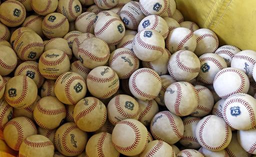 Las pelotas salieron de los estantes /Foto AP
