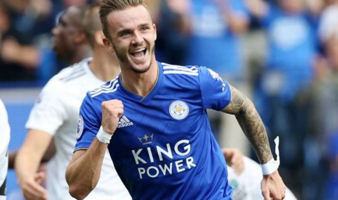 Volante central: James Maddison