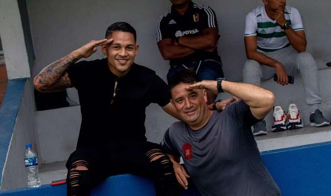 El venezolano tuvo un paso importante por el club de la Cota 905 / Foto: Caracas FC