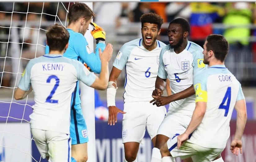 El portero de Inglaterra tapó el penal de gran forma /Foto FIFA