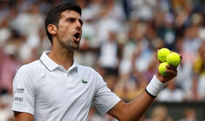 Novak no desentonó y pudo quedarse con la victoria / Foto: EFE