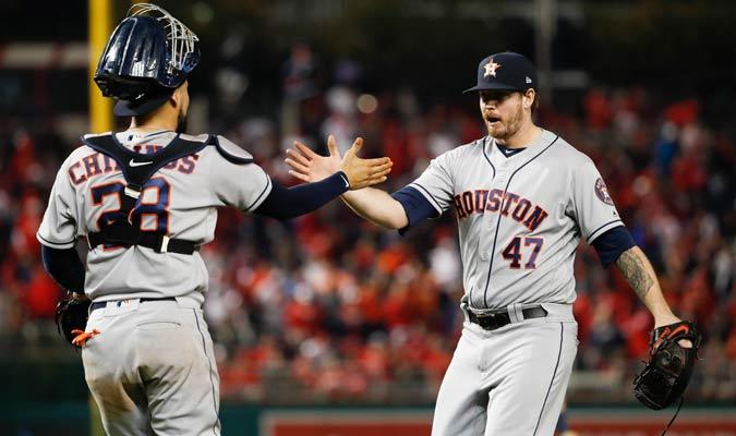 Devenski cerró las cosas para los Astros/ Foto AP