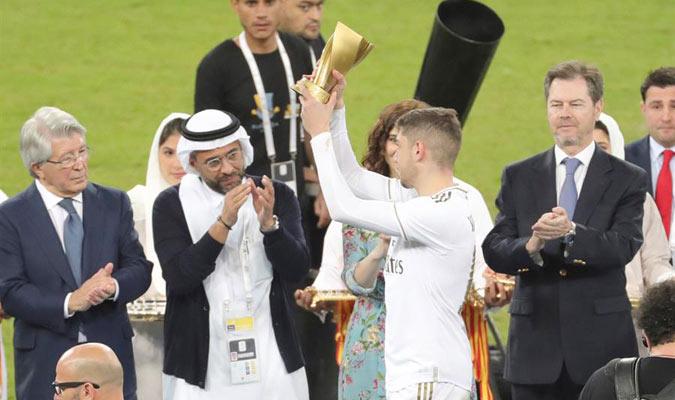El uruguayo fue nombrado el MVP de la final/ Foto EFE
