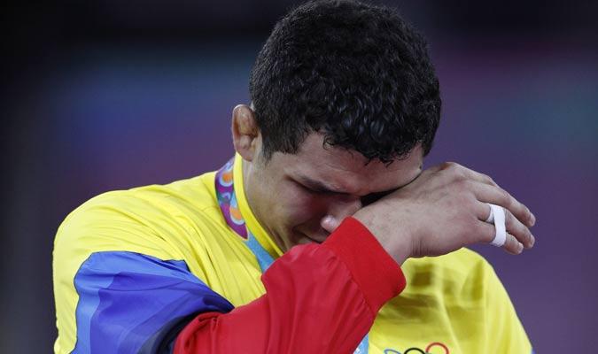 El criollo lloró por la emoción / Foto: AP