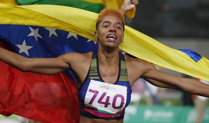 Rompió el récord panamericano / Foto: AP
