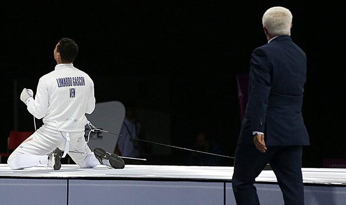 Limardo Gascón logró su cuarta medalla en los Panamericanos / Foto: Pedro Infante