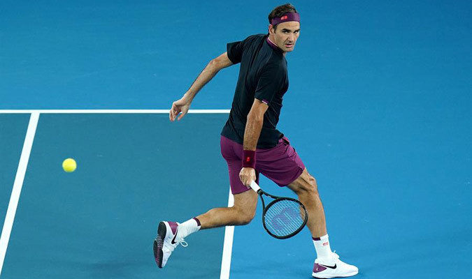 Federer se lució ante Johnson/ Foto EFE