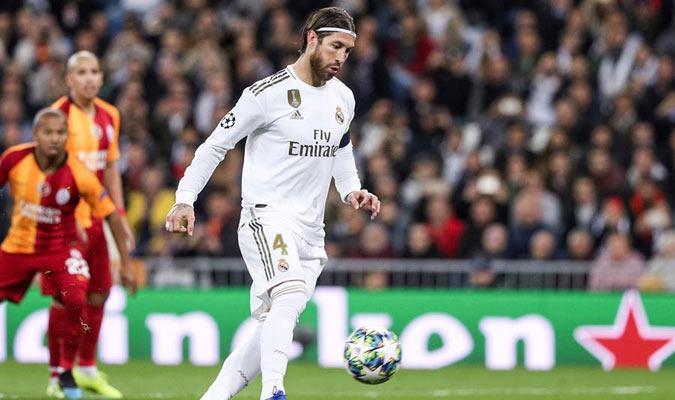 Sergio Ramos volvió a anotar un penal a lo