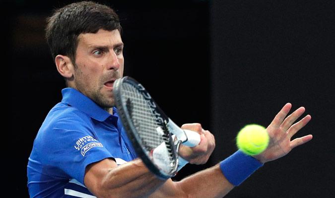Djokovic no le dio tregua al español/ Foto AP