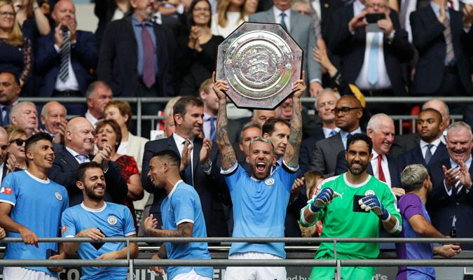 El City se proclamó campeón de la Community Shield/ Foto AP