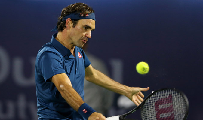El suizo fue muy efectivo durante todo el duelo/ Foto AP