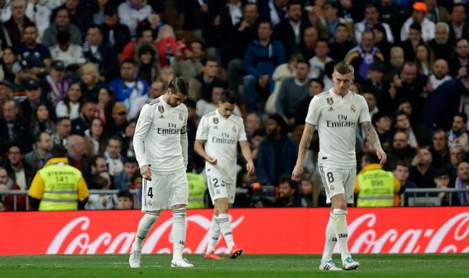 El Madrid jugó mejor, pero pagó su ineficacia/ Foto AP