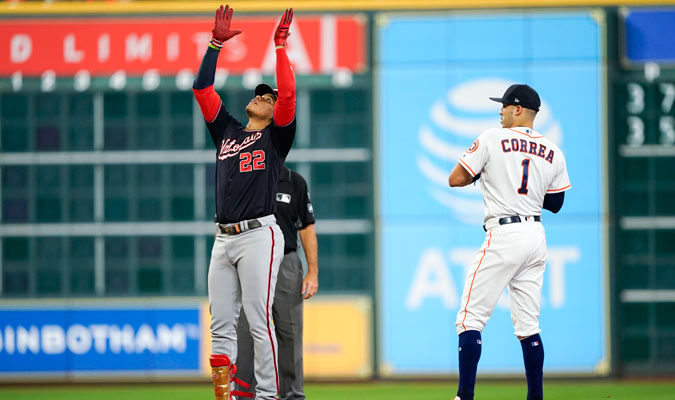 Soto sigue imparable en la postemporada/ Foto AP