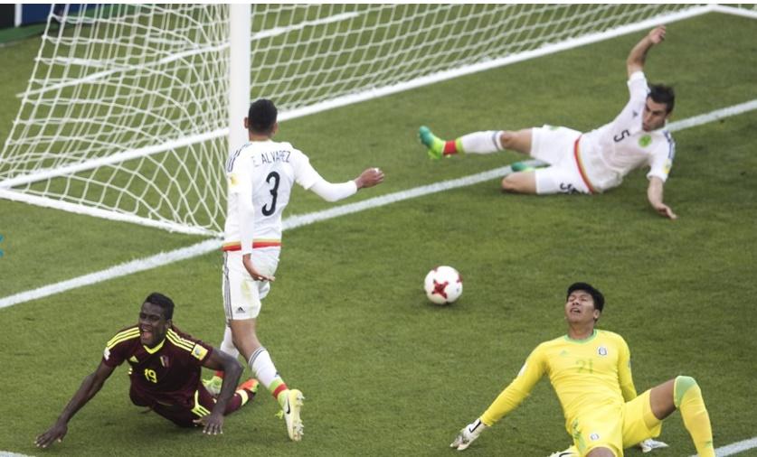 Córdova definió de forma magistral /Foto FIFA
