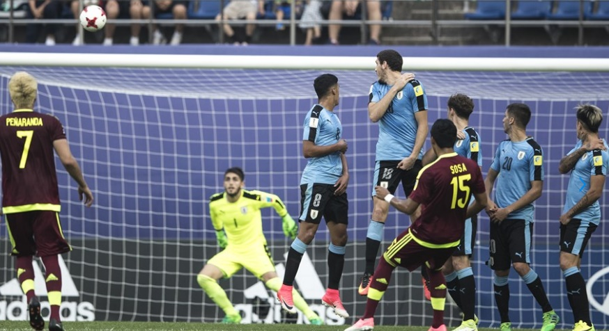Increíble la pegada de Sosa /Foto FIFA