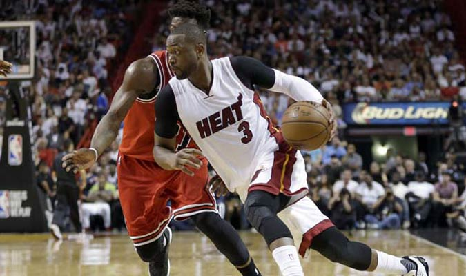Dwyane Wade deja al Heat y firmará con los Bulls / Foto AP