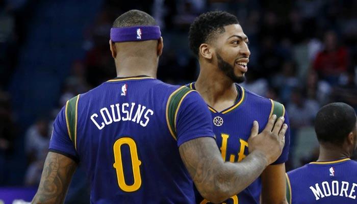 Cousins y Davis ahora son compañeros de equipo /Foto AP