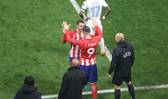 Fernando Torres vio acción / Foto Elyxandro Cegarra