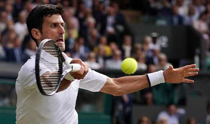 Djokovic resistió durante todo el partido / Foto: EFE