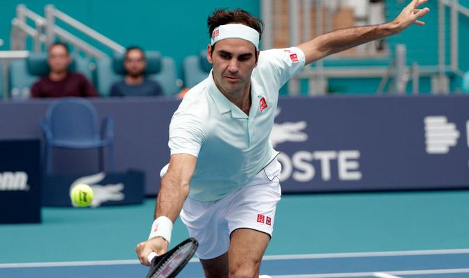La habilidad del helvético quedó patente una vez más en Miami/ Foto AP
