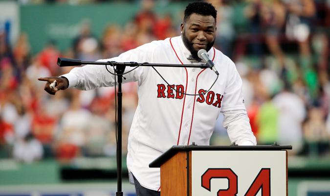Ortiz tuvo palabras para los aficionados y a los Medias Rojas / Foto AP