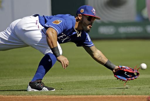 Odor realizó una estupenda jugada a la defensiva /Foto AP