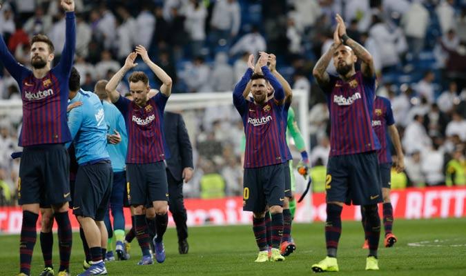 El conjunto blaugrana se llevó su clasificación a la final/ Foto AP