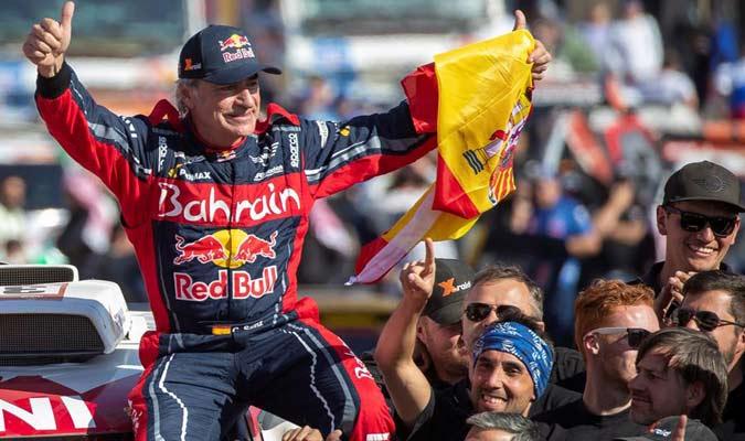 El español se convirtió en el piloto de más edad en obtener el triunfo/ Foto EFE