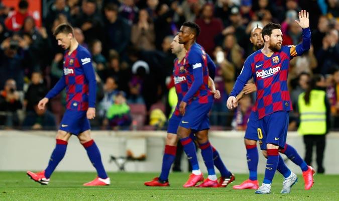 El Barcelona sigue en la lucha por el campeonato/ Foto AP
