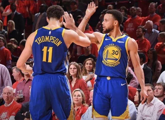 Thompson y Curry fueron los verdugos por los Warriors