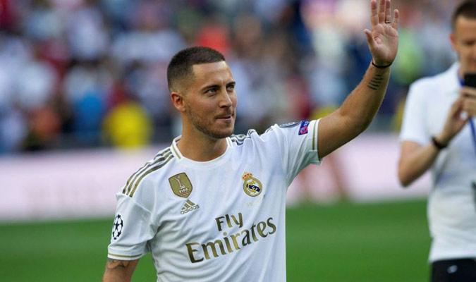 Hazard llegó para ser la estrella del Real Madrid/ Foto Cortesía