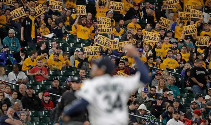 El público se volcó con su ídolo/ Foto AP