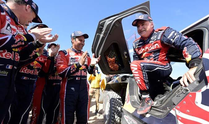 El español conquistó el tercer Dakar de su carrera/ Foto EFE