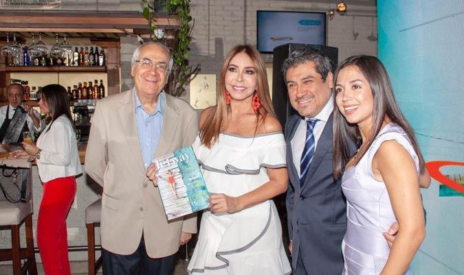 Viviana Gibelli estuvo en la presentación de la revista/ Foto Cortesía