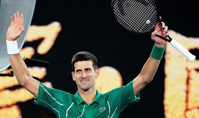 Djokovic obtuvo su victoria 900 como profesional/ Foto EFE
