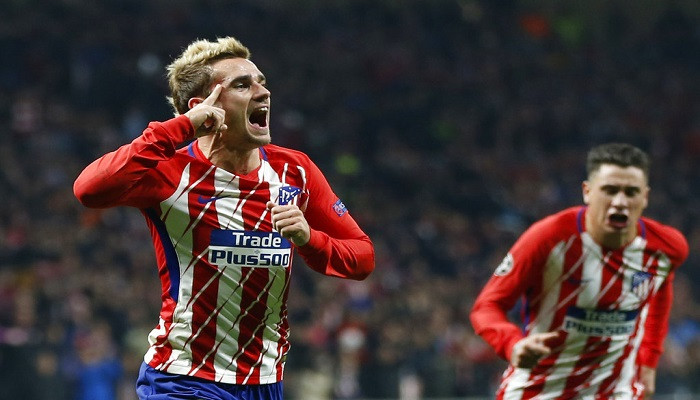 Griezmann celebrando su golazo | Foto: AP