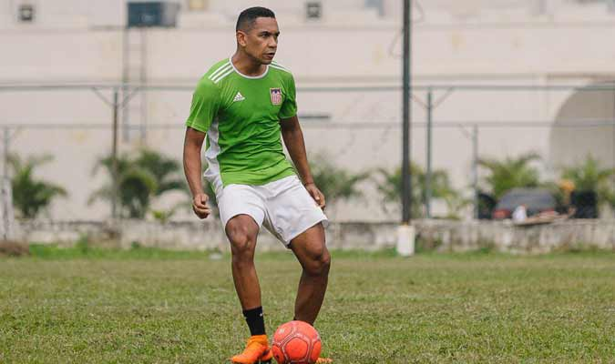Grenddy Perozo es el defensor con más goles / Foto: Cortesía